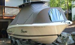 We make custom canopy boat tops, motorboat and sailboat dodgers, mooring covers, bimini tops, enclosures, custom covers for outdoor cook centers, furniture, A/C units, compressors, snow plows and just about anything you need covered. We also make and sell