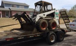 BOBCAT & Landscape Services. **FREE ESTIMATES**!! No job to big or small! Home or construction sites. Finish that job before fall! Taking immediate appointments. Dirt moving, French drains, culverts, landscape, etc. call today!!