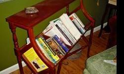 Vintage bookcase.