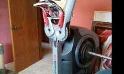 Practically brand new Bowflex Revolution. $1000 OBO. Money talks, make me an offer. Cash only. This machine was used only a few times and is in perfect working condition. Gym is set up as one piece but still requires a few more connections. Instructions