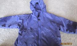 Reversible London Fog jacket. Fleece/nylon - mid weight. Good condition