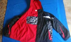 Boys Winter Reversable Jacket Size 14 - 16 Very good condition
