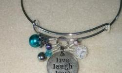 nice charms and bracelet