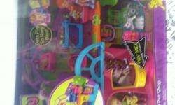 Brand New Polly Pocket playtime pet shop set. I have 2 of them they are $15 each in the punta gorda area.