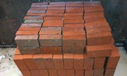300 new red bricks $100.00 call anytime 323-770-3242 thank you