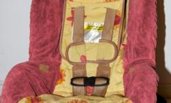 The item is used, in great condition, no stains, no accidents, smoke free home, manufacturing date: 02. April 2009 Product features:  Convertible Car Seat Features 5-Point Harness LATCH Anchor System, Up-Front Adjustment Contoured Seat Buckle