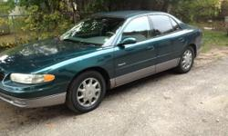 1998 Buick Regal Very Clean ****NEW MUFFLER WLIFETIME WARRANTY (MUFFLER MAN) ****NEW BRAKES & ROTARS ****FULL TUNE UP ****OIL CHANGE & RADIATOR FLUSHED ****READY FOR WINTER**** Heated seats..... Mint Condition low mileage (95,000) Trusted to go anywhere