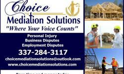 Are you having a disagreement with a partner, employee, sub, installer, supplier, shipper, repair service, vendor, or homeowner? Choice Mediation Solutions is here to assist you with this dispute to avoid it escalating to a claim or case against you, your
