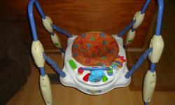 jumperoo-im asking $30 floormat toy-$4 little car also a standing up walker-$5