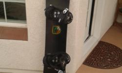 BURTON SNOWBOARD WITH BINDINGS IN EXCELLENT CONDITION 151 cm. Will accept reasonable offer