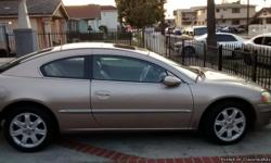 2002 Chrysler Sebringblack on the inside gold on the outsidevery clean no troubles ready to go.registration is current.