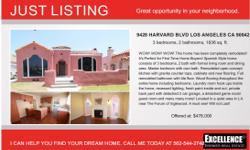 WOW! WOW! WOW! This home has been completely remodeled! it's Perfect for First Time Home Buyers! Spanish Style home consist of 3 bedrooms, 2 bath with living room and dining area, Master bedrooms with own bath. Remodeled open concept kitchen with granite