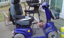 Nice electric scooter with charger and manual - am needing something smaller now! In the Cheney area