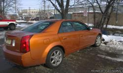 Very nice car its a 03 Cadillac CTS with 145k , power locks /windows, heated seats, CD player sirus radio, moon roof , sport package , newer tires just fixed thermostat and crank shaft....there are a few minor fixes to do the o2 sensor and speedometer but