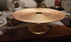 Cake Plates, couple them, very good condition, great for holidays or whenever.