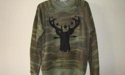 """Camo Sweater"":Super-Soft Ultra-Comfortable Camo Sweater @ BuckheadThread.com: http://shop.buckheadthread.com/Camo-Sweater-767.htm"