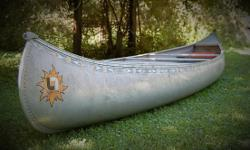 One heck of a finely USAcrafted canoe here. Properly stored inside for 14 years! Without issues. . ..NO scratches or dents. True tracking and EZ steering. Great seats too! This 70 year old is willing to part with this gem to another good owner for