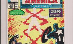 Captain America #362 (MARVEL Comics) *Cliff's Comics & Collectibles *Comic Books *Action Figures *Posters *Hard Cover & Paperback Books *Location: 656 Center Street, Apt A405, Wallingford, Ct *Cell phone # -- *Link to comic book selling on Amazon.com