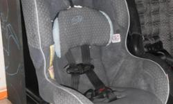 Foreward-facing Evenflo car seat intended fo22-40lbs