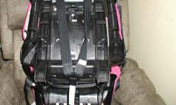 Graco kids car seat barely used. It was a spare car seat inour second vehicle. Easy to clean and has it's own buckle for easy usein all vehicles.