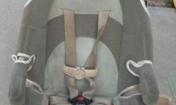 This is a car seat in good condition