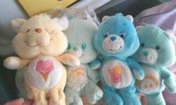 Care Bear Lamp $10... Care Bear Mobile $7 and assorted Care Bear Plush Animals $2