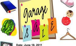 Neighbourhood participating in Church Garage sale. June 18, Saturday from 8am till noon. Baby items, Clothing & Apparel (Men, Women),Shoes furniture, etc. All Starting from $1.00 106 W Hamilton Ave, Tampa fl 33613. Follow Signs.
