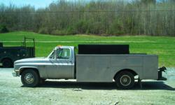 1986 Chevy 350 1- Ton. low mileage, aluminum service body, new paint job, excellent condition. $5600.00 OBO