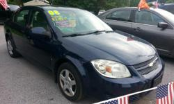 2008 chevy cobalt blue 130k miles automatic power windows clean. located at 1638 route 9 clifton park ny www.joecarsllc.com 518-333-0030