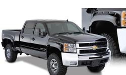 Birthday surprise gone bad! Wife ordered flares for the late 2007 - current model Silverado instead of the 2007 Classic model. Never installed! We've already had these professionally painted Chevy black. Beautiful! NO modification to truck necessary and