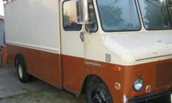 23' Aluminum body, tall ceiling, large enough to live in. In fact, I've been comfortably living in it for 8 months. I brought this truck down from Washington after it sat for several years. I spent two months working on it. I re-cammed the engine to a