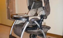 Chicco Cortina Stroller in great condition. About 5 years old, used only a handful of times. Very clean, no stains. Pick up in Ellisville.