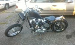"1977 HARLEY DAVIDSON,Ironhead in a custom frame 4inch raise 34 degree rake,6""over springer front ,all chrome is new,3000mi. approx. heavy duty clutches and spring ,S&S Carburator,fun Bike and fast.call 503-476-5965 ask for Nick"