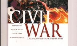 Civil War #5 (MARVEL Comics) *Cliff's Comics & Collectibles *Comic Books *Action Figures *Posters *Hard Cover & Paperback Books *Location: 656 Center Street, Apt A405, Wallingford, Ct *Cell phone # -- *Link to comic book selling on Amazon.com
