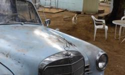 1960 Merceds-Benz 190B 4dr retractbal sunroof Runs Good good body no dents Az car very min rust knobs handles lights horn antenna jack ashtray ect... there all ther Great first time fixer just needs paint and upholstry and you have your self a Gem and