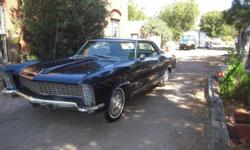 Rare 1965 Buick Riviera 56588 original mi 401 motor AC, PS, PB very nice condition, runs and drives a good investment to whomever owns one of these.clear title and ready to sell. HAVE MORE PICTURES AVAILIBLE email me for more info.
