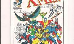 """Classic X-Men #1 Cover Poster 6.5""""x10"""" *Cliff's Comics & Collectibles *Comic Books *Action Figures *Posters *Hard Cover & Paperback Books *Location: 656 Center Street, Apt A405, Wallingford, Ct *Cell phone # -- *Link to comic book selling on Amazon.com"""