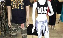 """CLOTHING STORE """"DRESS ME UP"""" SPECIALIZING IN AFFORDABLE CLOTHING: APPAREL, ACCESSORIES, SHOES & PRO 5 TEE'S AND ALTERATIONS... 6802 Fruitridge Rd (A) Sacto, Ca 95820 916-381-1595 Store Hours: Mon-Sat 10:30am-7:30pm"""