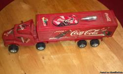 Coca Cola Truck is in good condition!  Please check out our entire inventory at shop.lrwcandlesandmore.com. We update our inventory as we get new items. Please feel free to call us at (727) 535-5522 or text (727) 535-5522 with any questions!