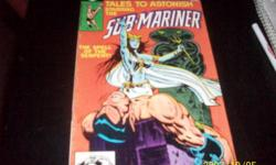 Marvel comic group-Tales to Astonish,Starring the Sub Marine#9, aug. 1980-40cents,will take bids,,thank you,,
