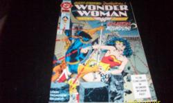 DC -Wonder Woman-Quest Starring-Death Stroke #1-1992 usa,1.75,Like new,will take bids ,,thank you,,
