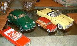 4 COLLECTIBLE CARS.VERY GOOD COND.813-3403872