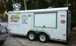 Phone - City Ormond Beach Zip 32174 Created December 27, 2012 Expires June 27, 2013 Viewed 4 times 16 ft trailer with 2 ft grill, deep fryer, 3 deep compartment sinks, double steam table, 10 cubic frost free frig, roll top frig, big built in drink cooler,