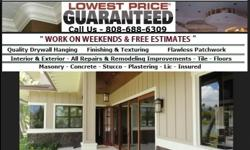 construction services painting services drywall services  if you are looking for rentals in Honolulu Hawaii we can help you make absolutely sure that they are painted and up-to-date interior and exterior painters Hawaii, moreover if you're a tenant