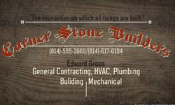GENERAL CONTRACTOR HVAC AND PLUMMING, CARPENTRY WORK, SIDDING, ELECTRICAL FAIR PRICES INCLUDED NO JOB TOO SMALL! Find us on Facebook!