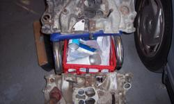 SBC GM Alum Intakes Used on 1070s 1980s Camaros Z-28 & Corvettes L-82 305 & 350 #458520 $35.00. Starter Heat Shields 1 Blanket & 1 Metal $10.00ea or $15.00pr, 1968 Corvette & 1969 Camaro Steering Rag joints $15.00ea. Clutch Fan Clutches