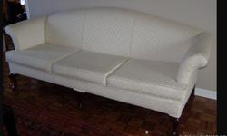 Antique white couch for sale.
