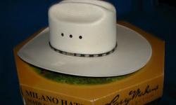 White George Strait hat, only been worn 5 times. Size 8. Excellent condition. Paid $80, asking $50 obo. Mens Laredo Cowboy boots. Worn 5 times. Excellent condition. No scuffs. Still in original box. Size 10 1/2. Paid $130, asking $60. 803-222-5675