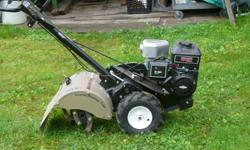 Craftsman rear tine rototiller weth Xtra tines Call Paul at cell