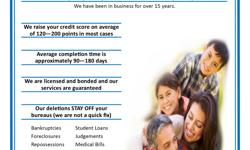 IF your credit is JACKED, then I CAN help. No false promises. No Lies. No BULL. Just a Real Solution!